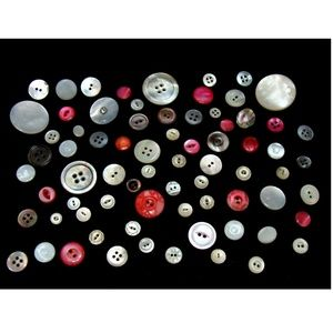 Other - Old pearl button lot 73 vintage antique  sewing